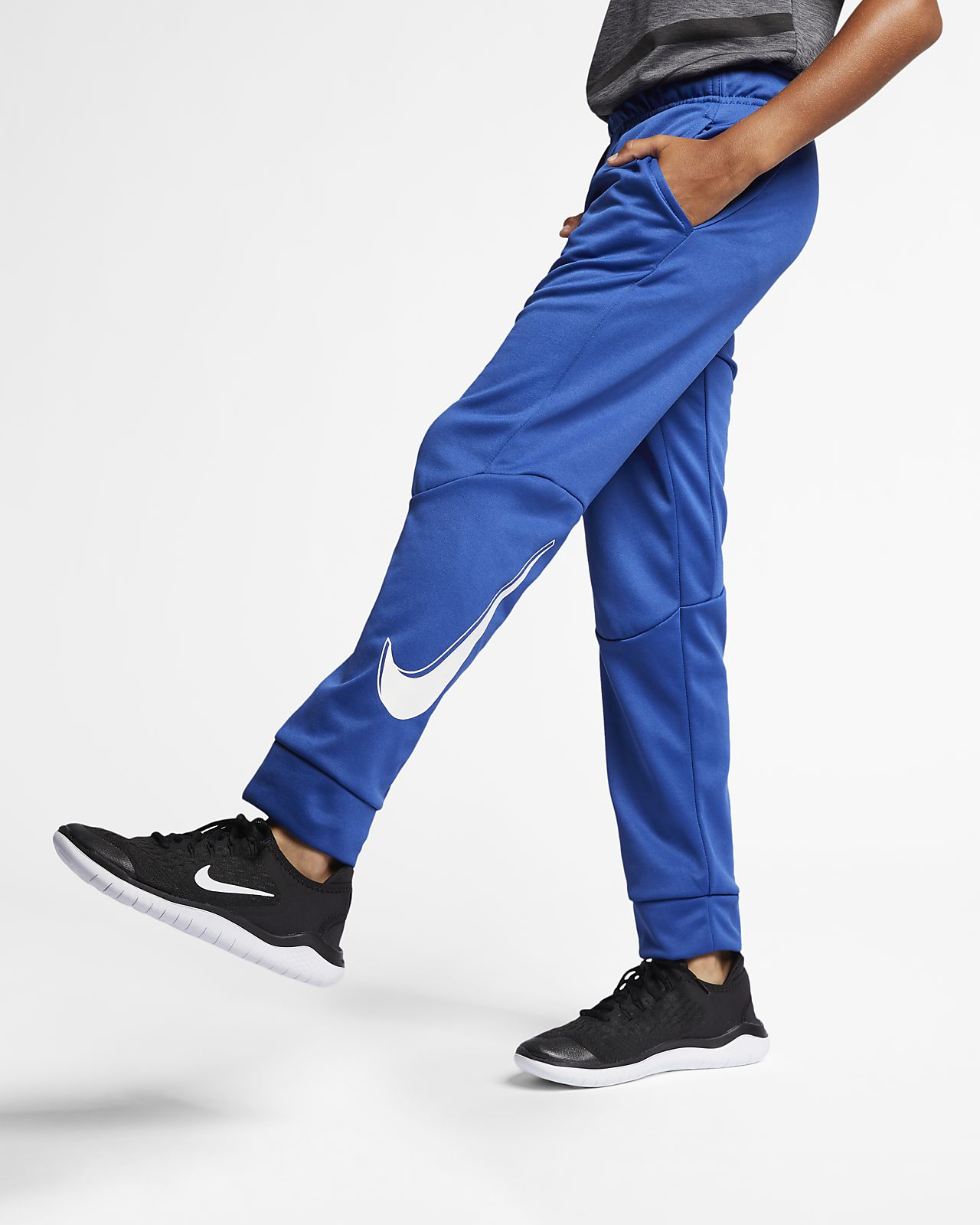 a4fd28380bf Nike Dri-FIT Therma Older Kids' (Boys') Training Trousers. Nike.com GB