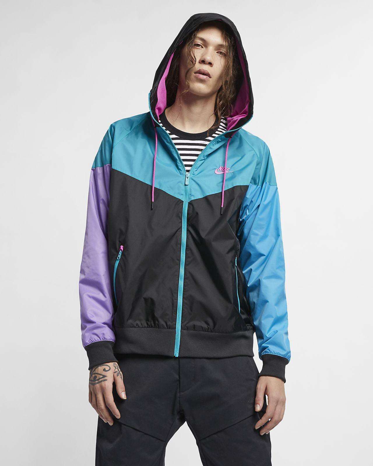 Giacca a vento con cappuccio Nike Sportswear Windrunner - Uomo