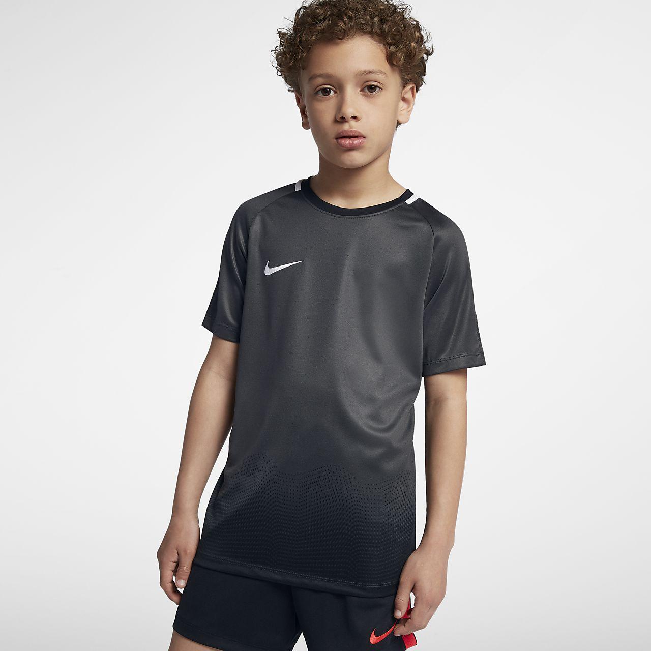 ... Top de fútbol de manga corta para niño talla grande Nike Dri-FIT Academy