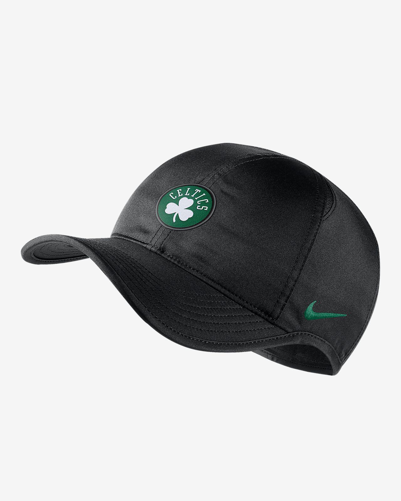 Boston Celtics Nike AeroBill Featherlight NBA Hat. Nike.com ID e6620304f5d