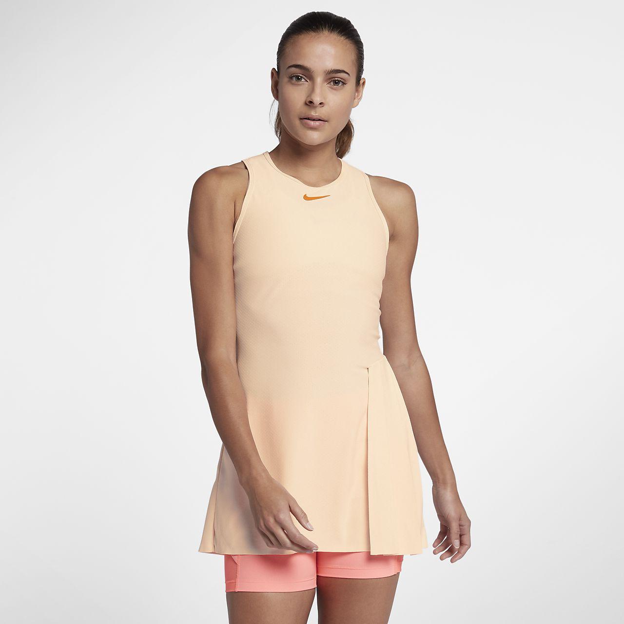 NikeCourt Techknit Cool Slam női teniszruha