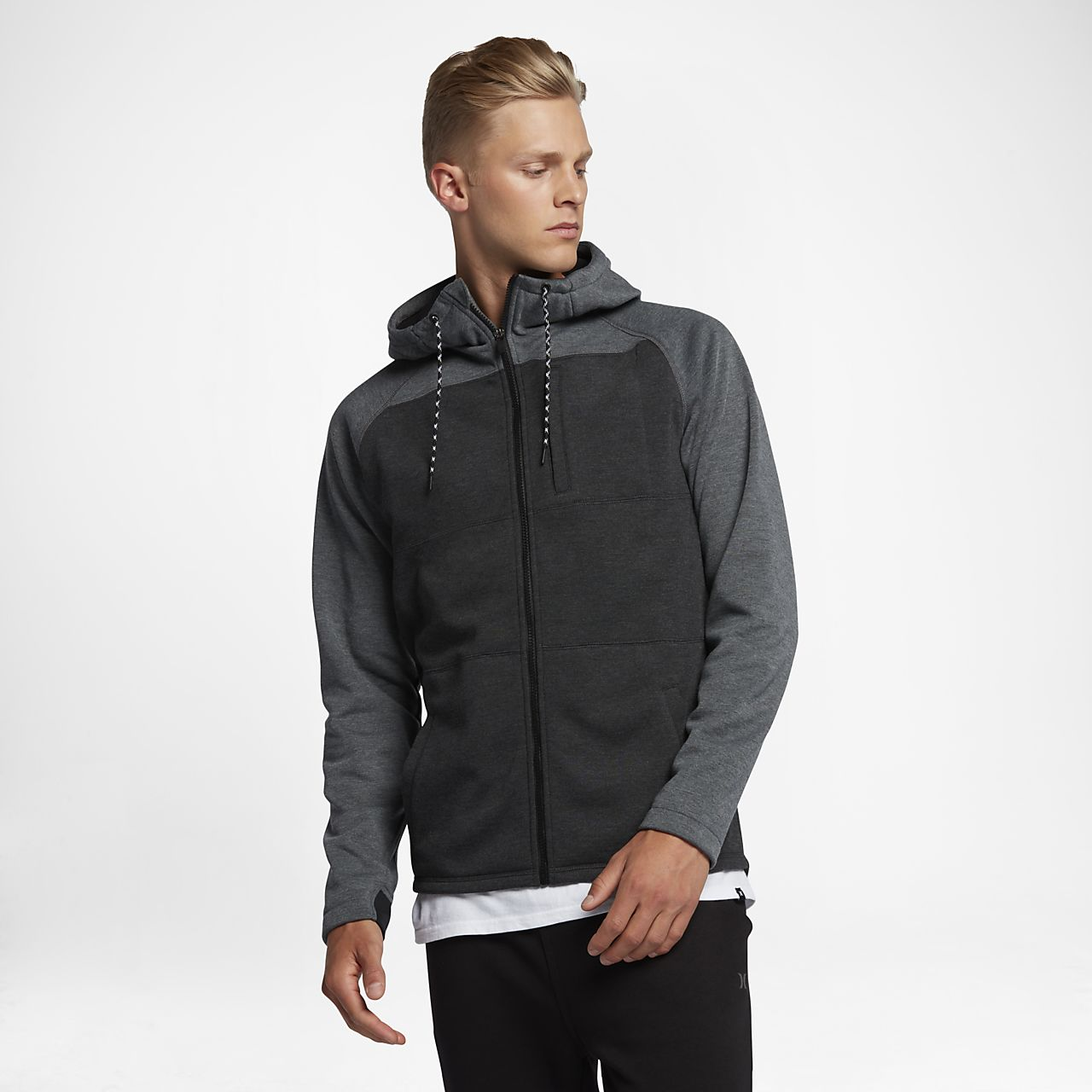 Sweat à capuche Hurley Therma Protect Plus Zip pour Homme