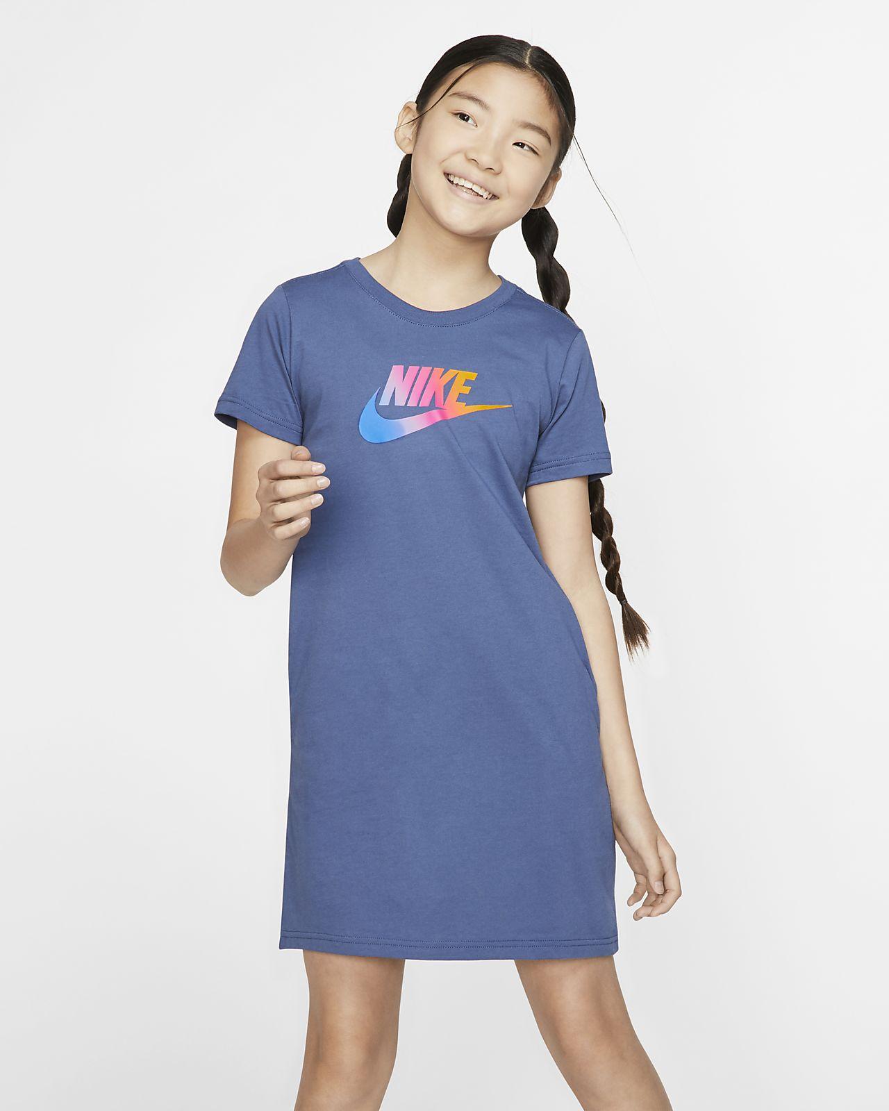 Šaty Nike Sportswear pro větší děti (dívky)