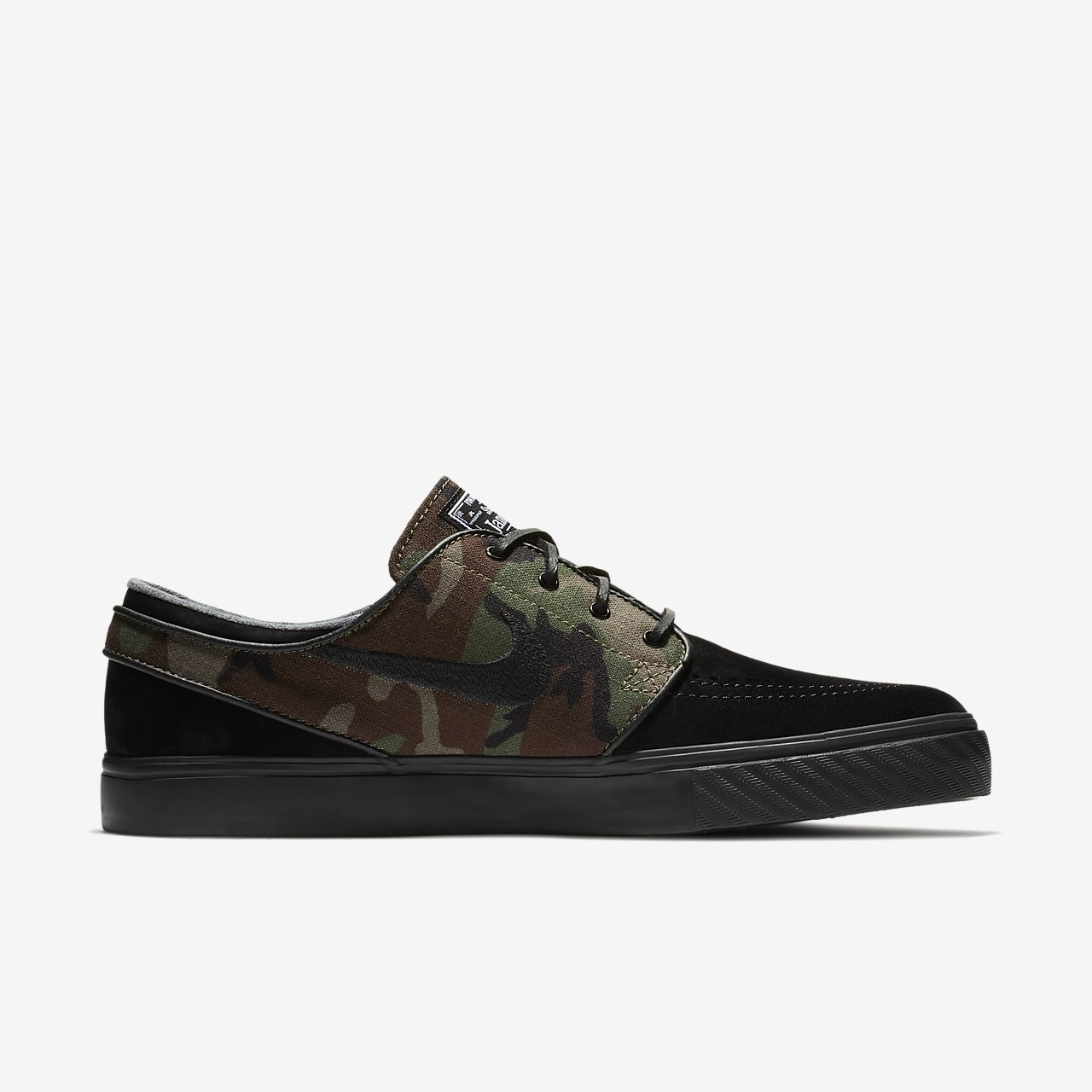 Nike SB Zoom Stefan Janoski Men's Skateboarding Shoes Brown/Black fT1316L