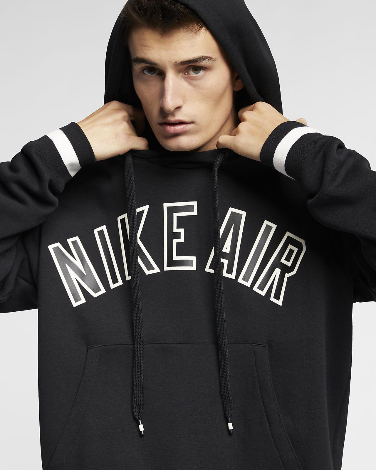 61ac818a7d625e Nike Air Men s Fleece Pullover Hoodie. Nike.com