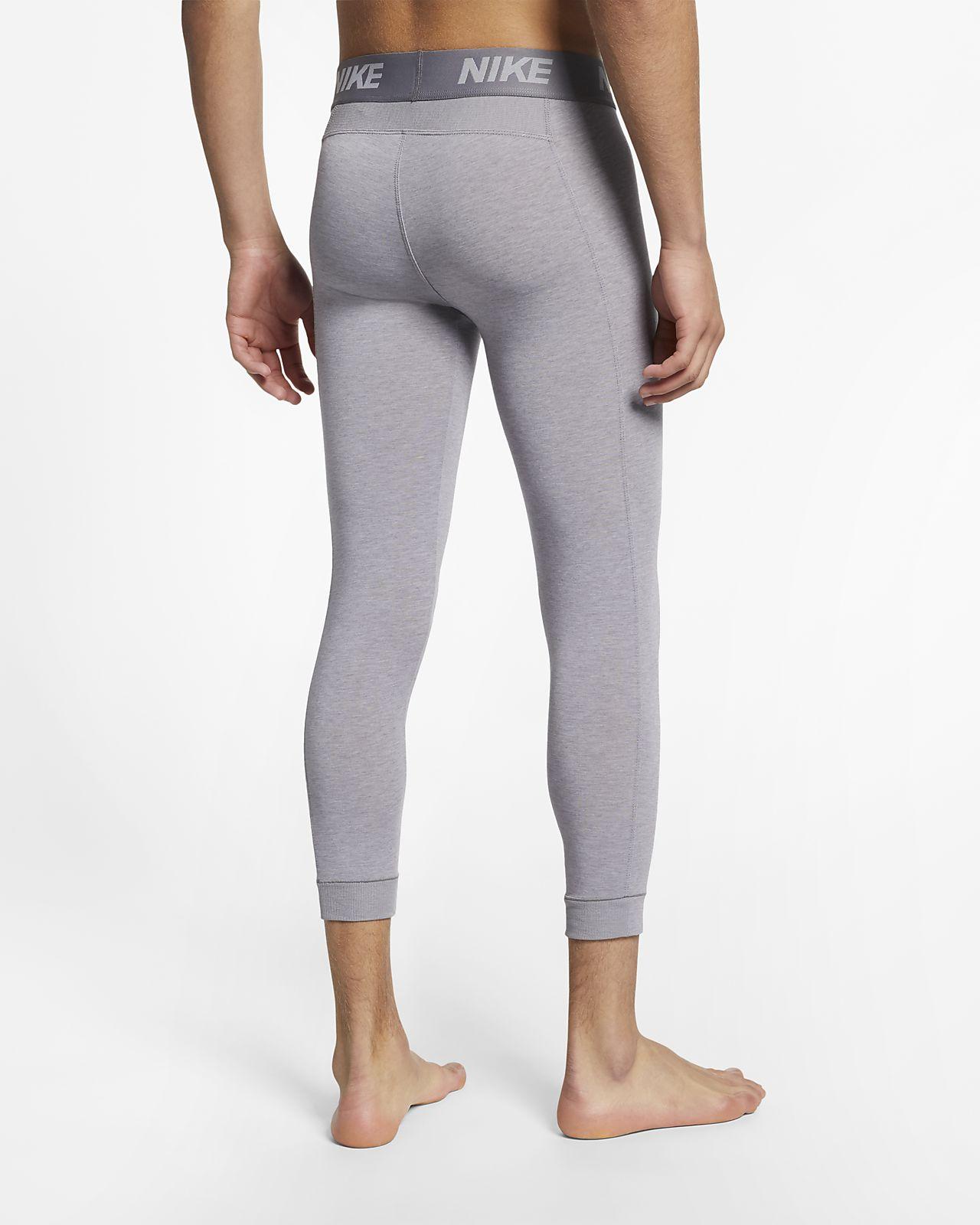 2b09ccd1de4f7 ... Mallas de entrenamiento de yoga de 3 4 de largo para hombre Nike Dri-