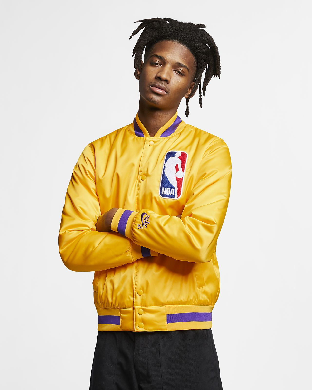 Chamarra bomber para hombre Nike SB x NBA