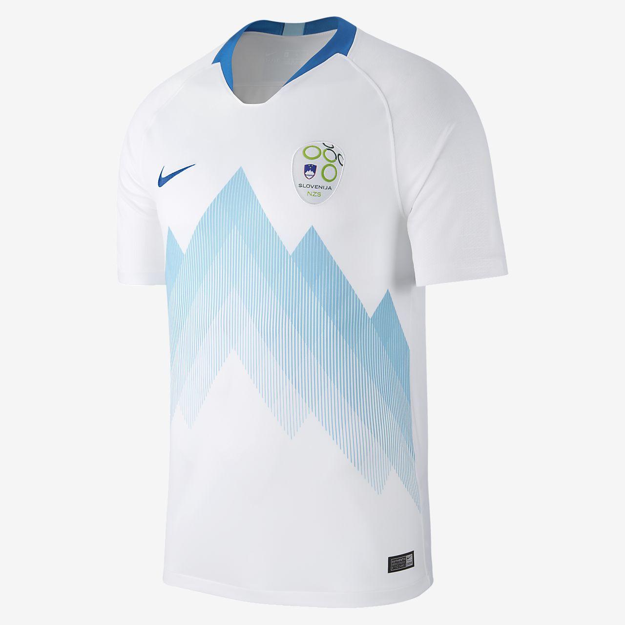 2018 Slovenia Stadium Home Men's Football Shirt