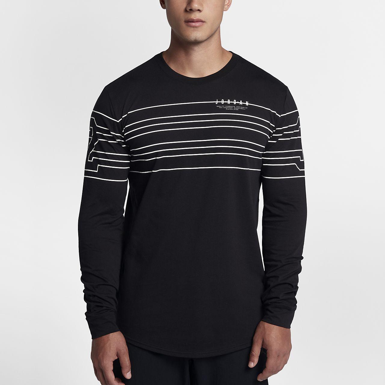 ... Jordan Sportswear 23 Lines Men's Long Sleeve T-Shirt