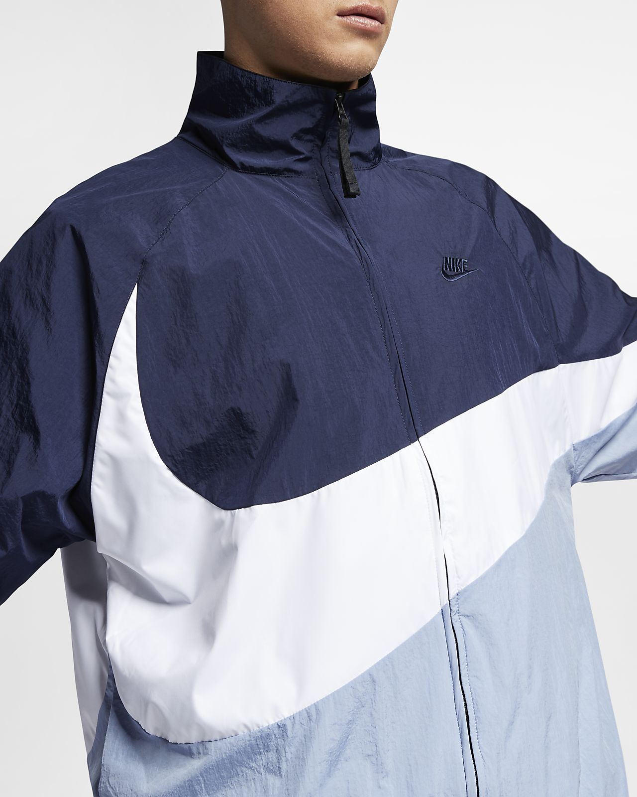 76098a281d loose Ch Nike Sportswear Fit Giacca A Swoosh Vento Woven q8wPTY