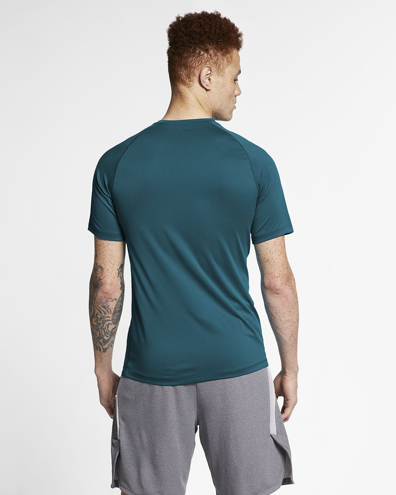 253c6e85 Nike Pro Men's Short-Sleeve Top. Nike.com
