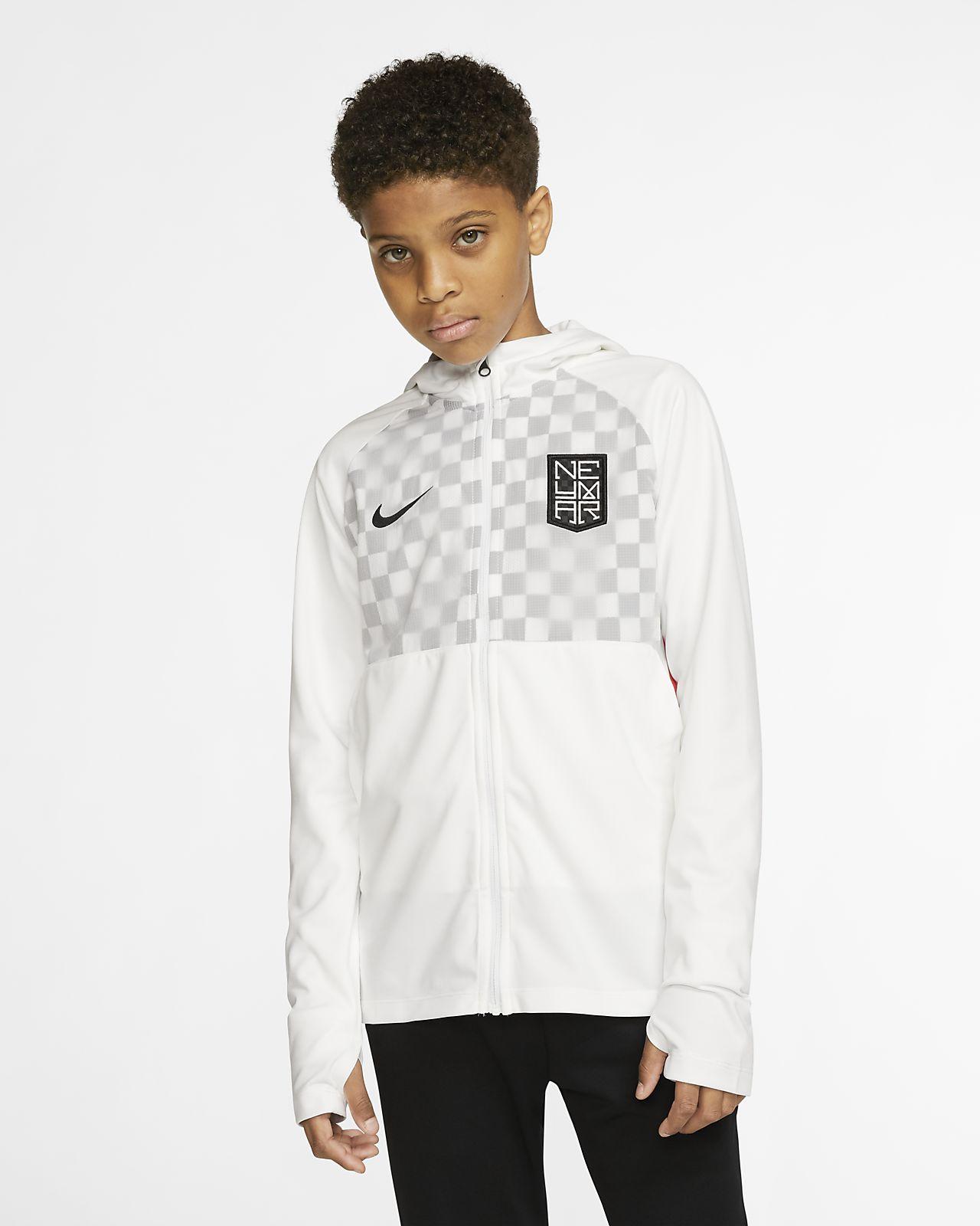 Chamarra de fútbol para niños talla grande Nike Dri-FIT Neymar Jr.