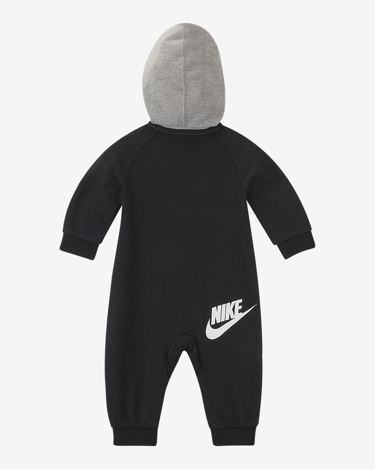 78a8c0b22bf2 Nike Sportswear Baby (0–9M) Hooded Overalls. Nike.com GB