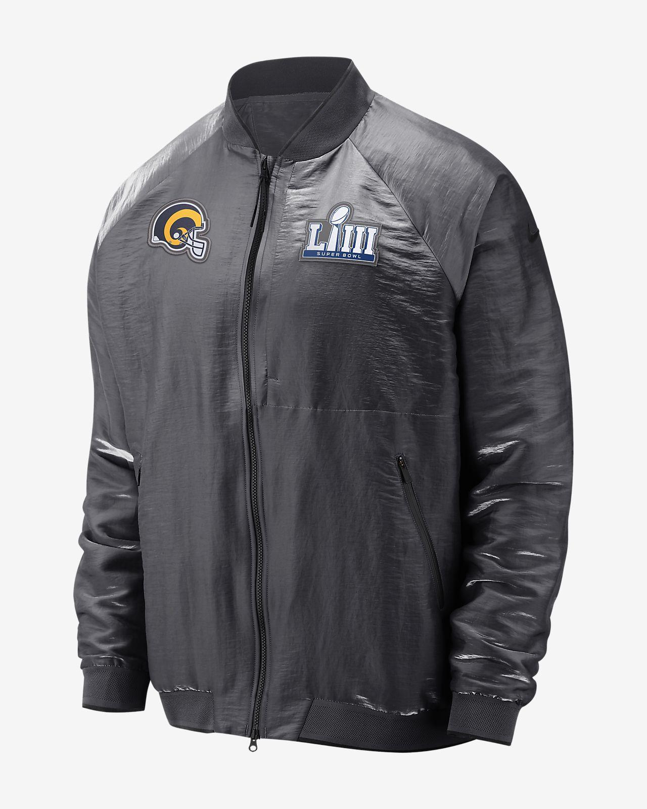 418c7beb69fd Nike Super Bowl LIII (NFL Rams) Men s Bomber Jacket. Nike.com