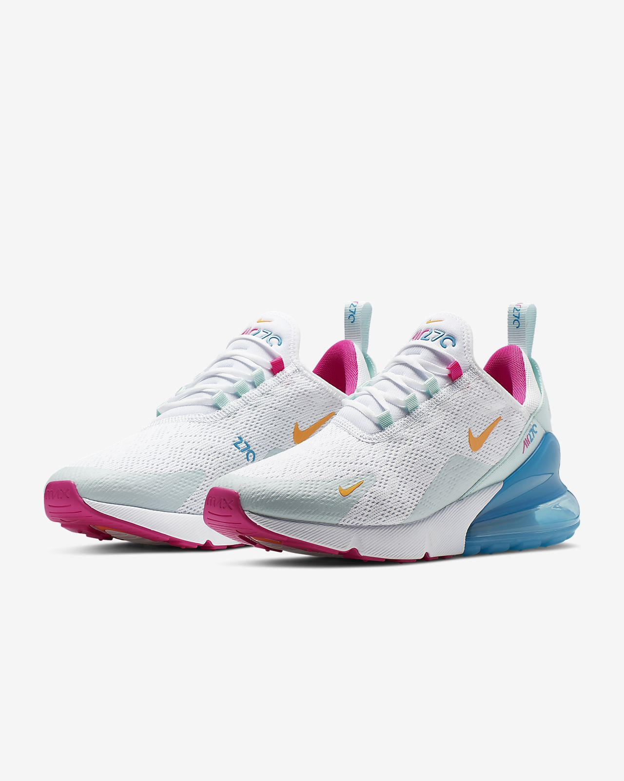 Nike Air Max 270 Pink | Sport | Sneakers nike, Nike shoes