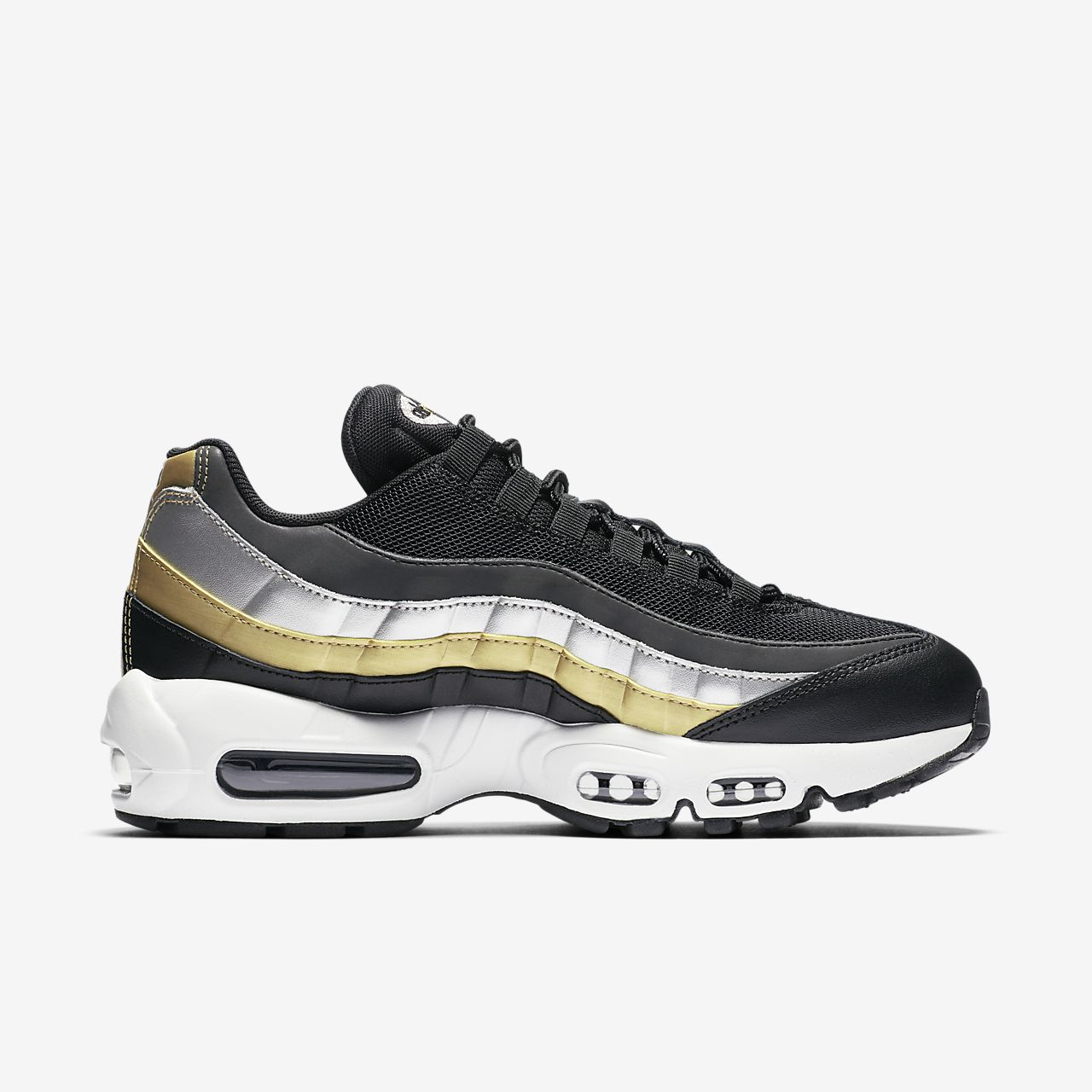 save off 7a325 29755 Nike Air Max 95 Lux Metallic Women's Shoe