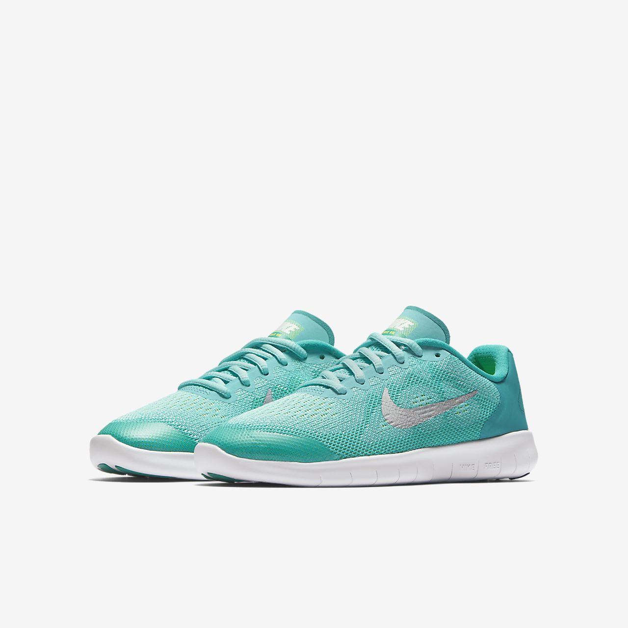 ... Nike Free RN 2017 Big Kids' Running Shoe