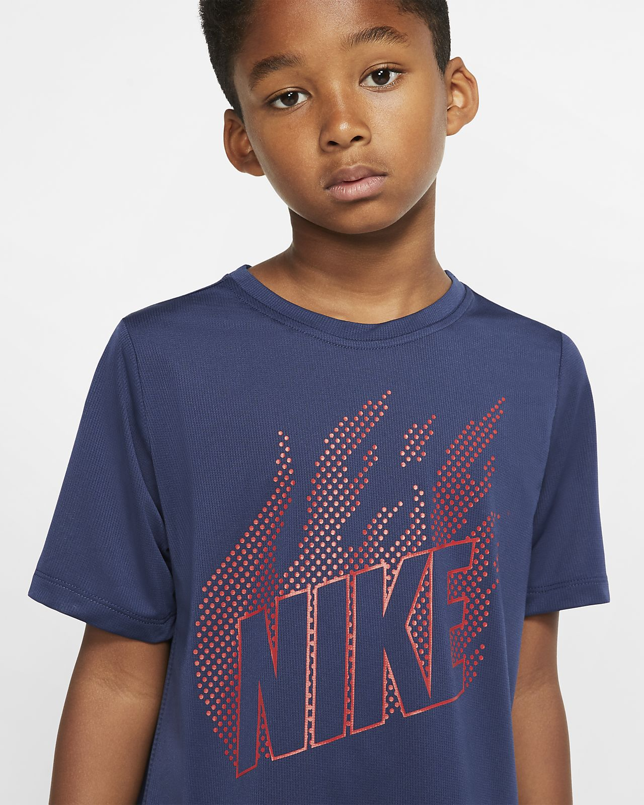 Nike Sportswear Air Max Older Kids' Short sleeve T shirt Purple from Nike on 21 Buttons