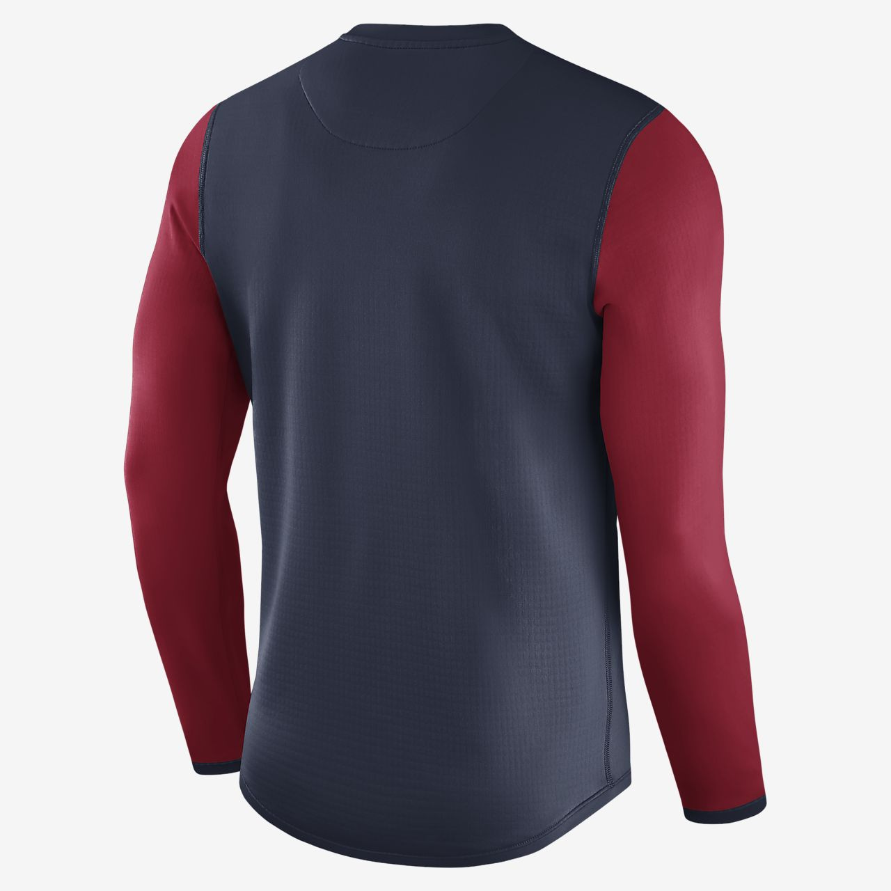 air force 1 nike mens white lacrosse waffle long sleeve shirt
