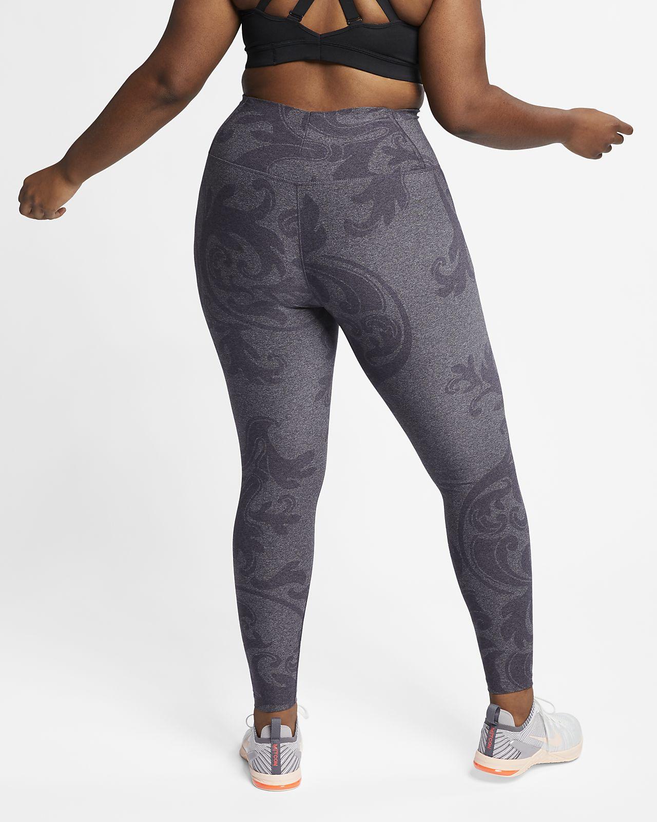 97df99e0e2dbd ... Nike Dri-FIT Power Studio Women's Printed Training Tights (Plus Size)