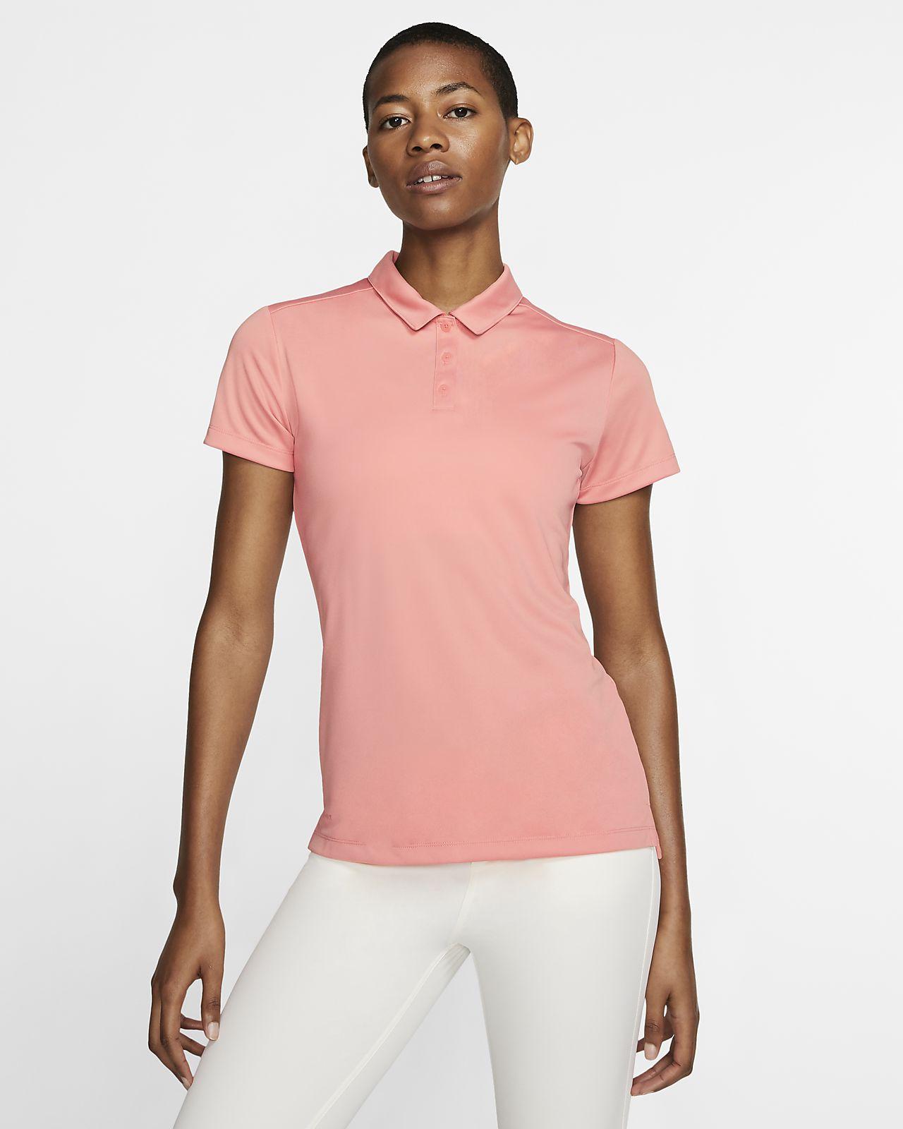 Nike Dri-FIT 女子高尔夫翻领 T恤