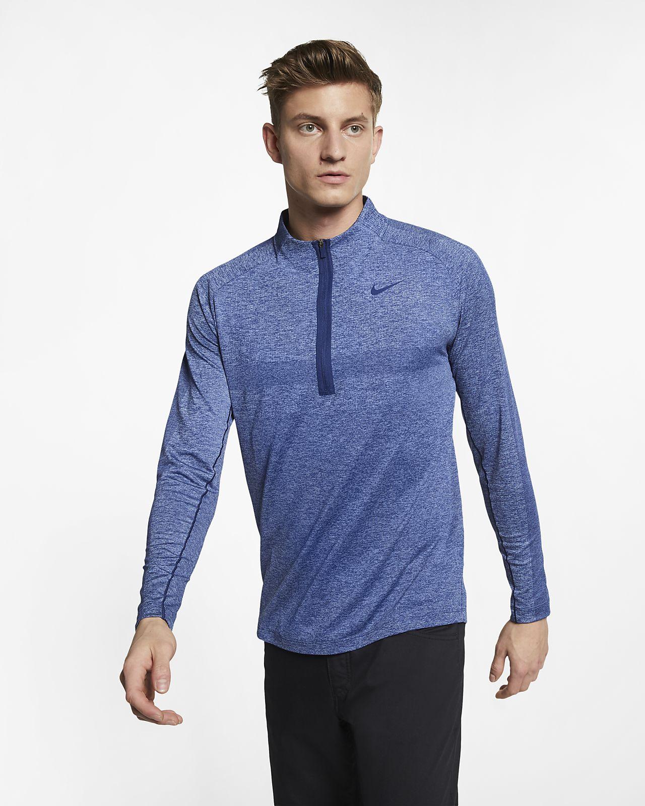 Nike Dri-FIT Herren-Golfoberteil mit Halbreißverschluss