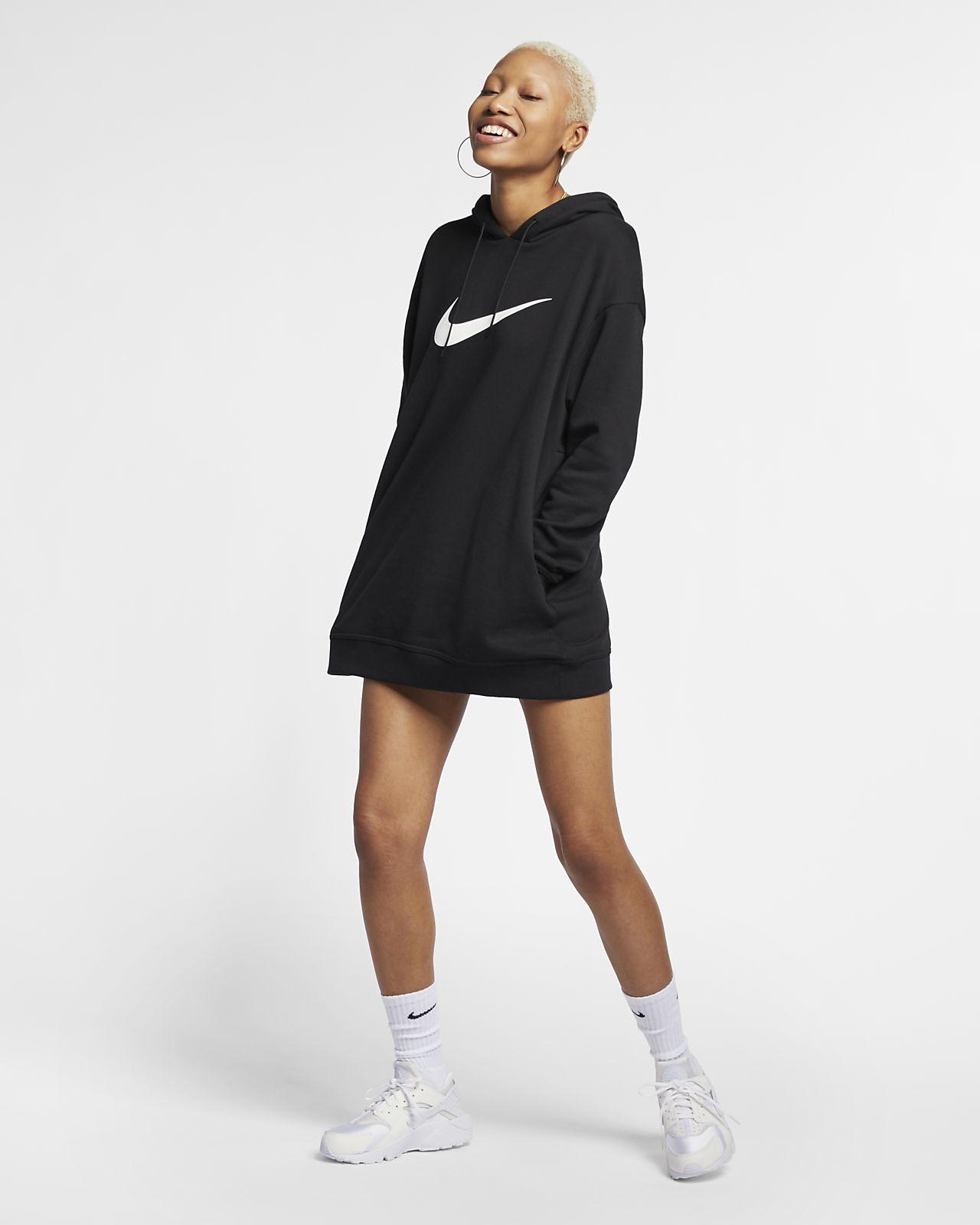 Nike Sportswear Swoosh French Terry 女子连帽衫