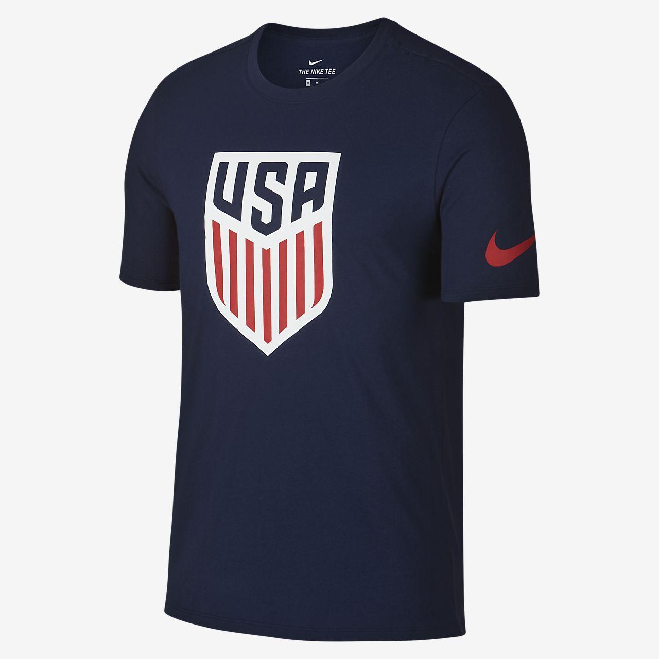 Nike White Mens Men Nike Crest Tee Classics