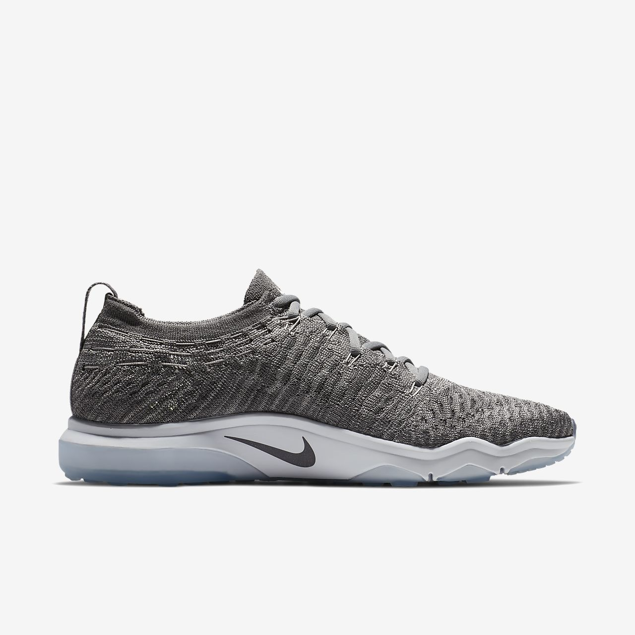 Nike Baskets basses Air Zoom Fearless Flyknit Lux Gris n6X70pC9