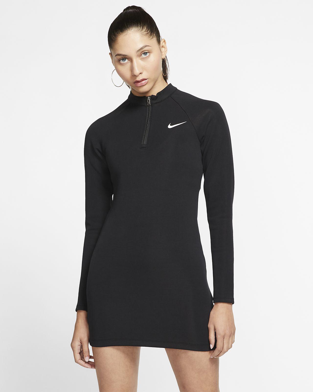 Dámské šaty Nike Sportswear s dlouhým rukávem
