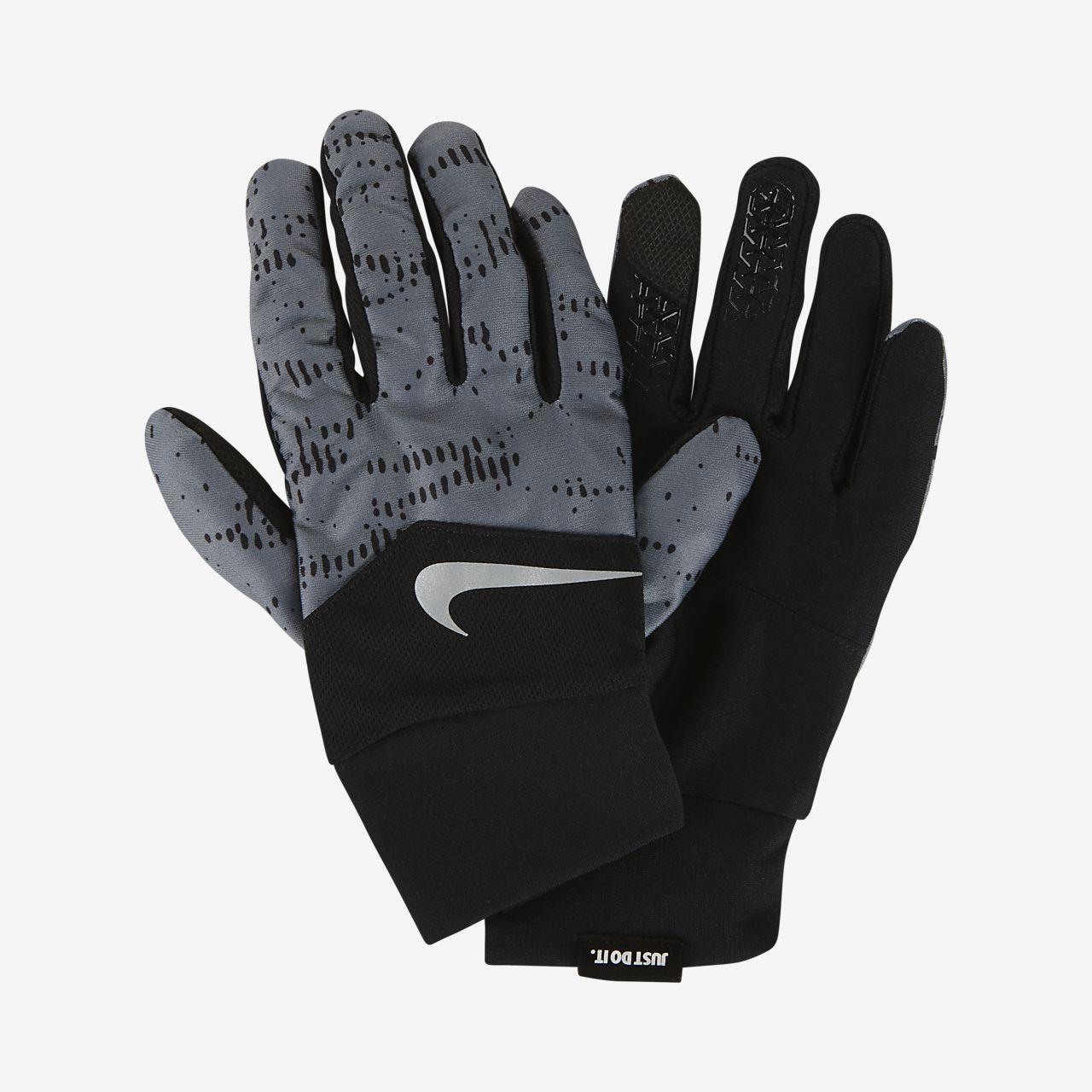 new concept ad57a 8c3e1 Mens Running Gloves. Nike Dri-FIT Tempo