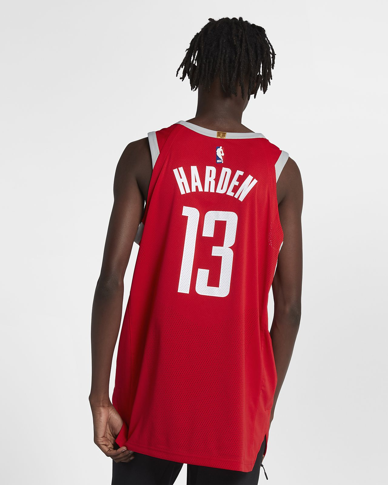 Maillot connecté Nike NBA James Harden Icon Edition Authentic (Houston Rockets) pour Homme