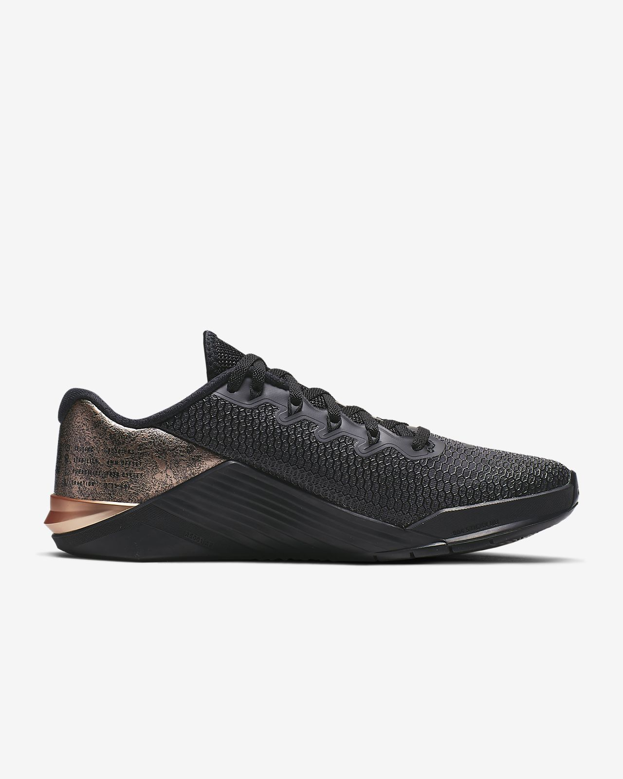 Nike Metcon 5 Black x Gold Trainingsschoen