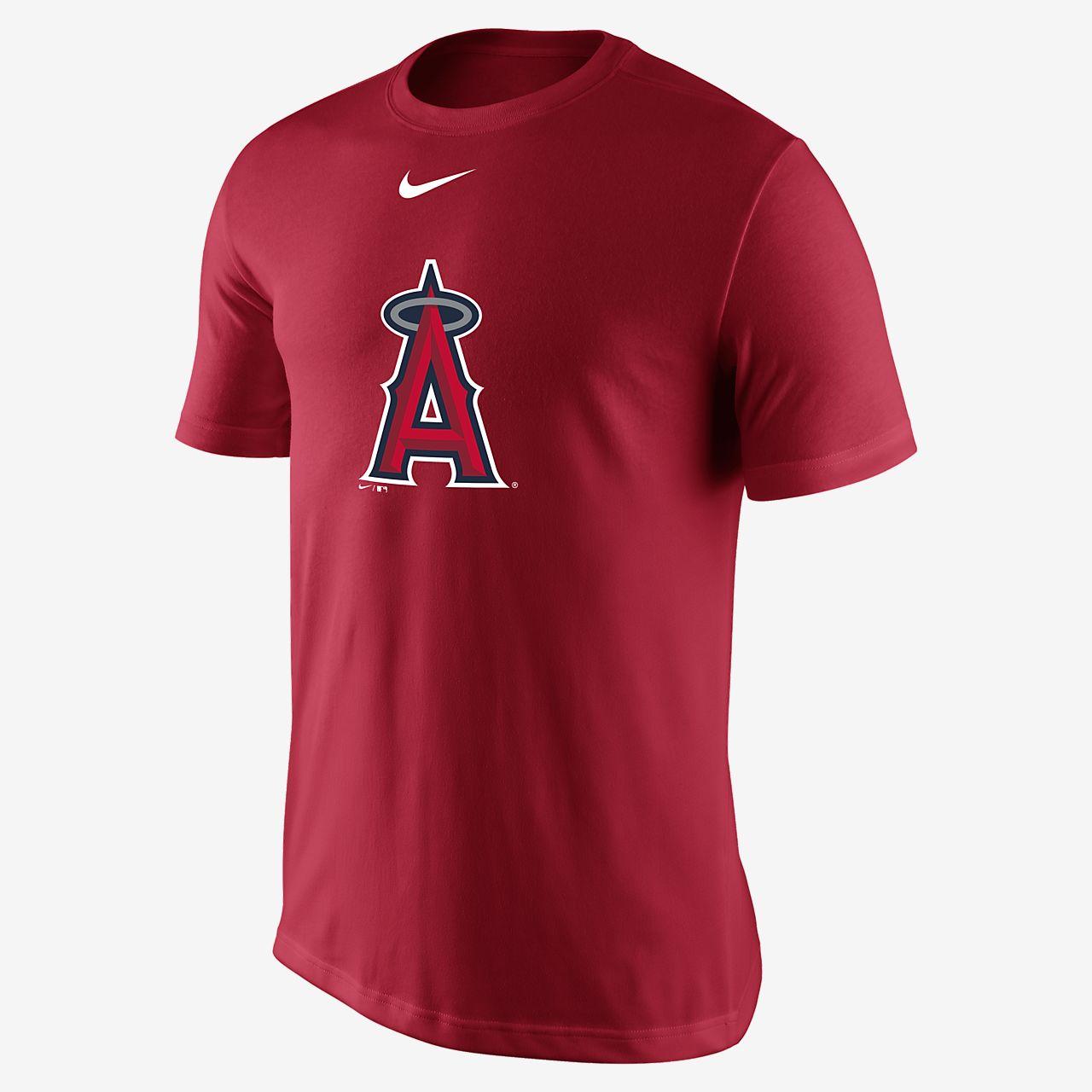 huge discount 46115 1fc74 ... Nike Legend Logo (MLB Angels) Men s T-Shirt