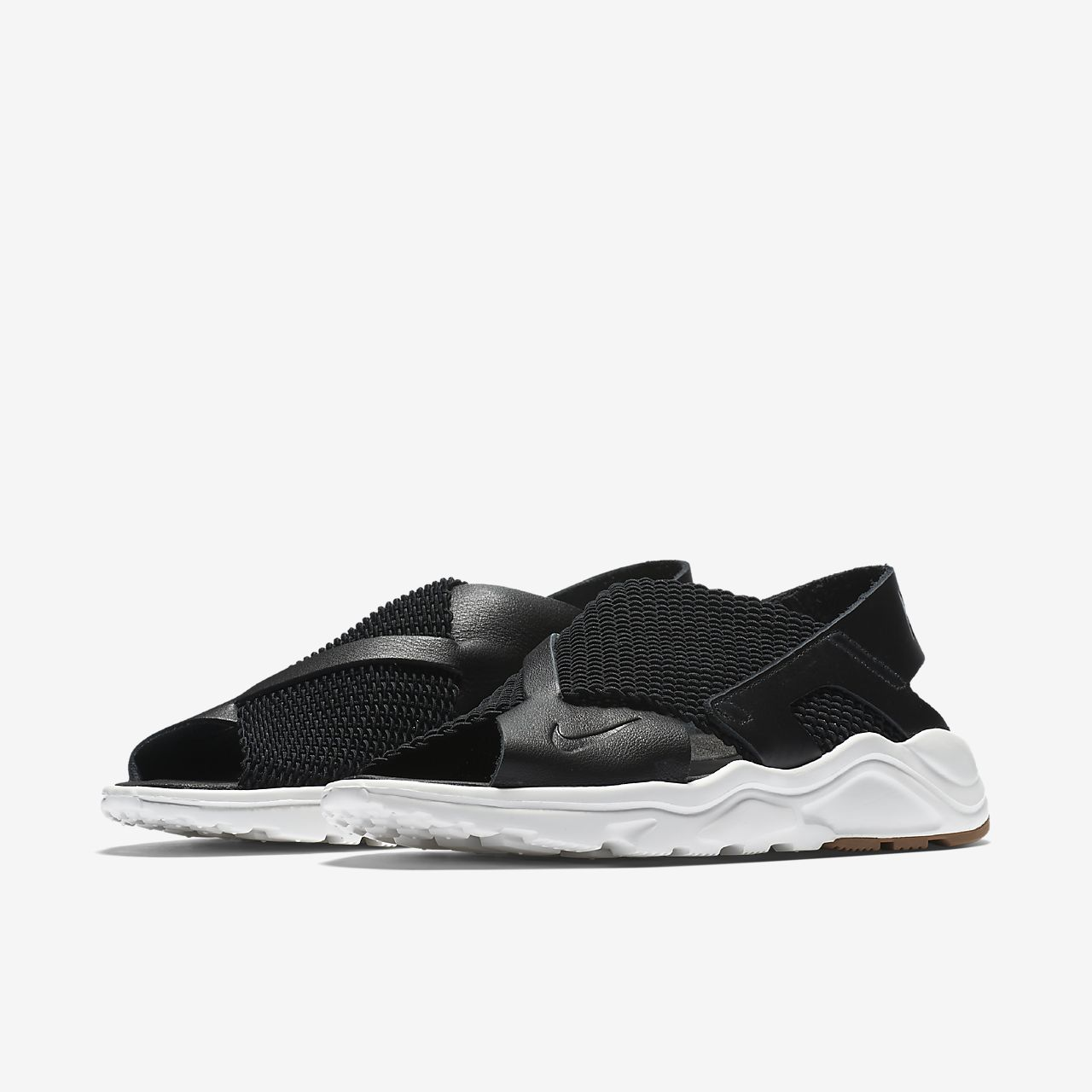 nike huarache ultra women's black
