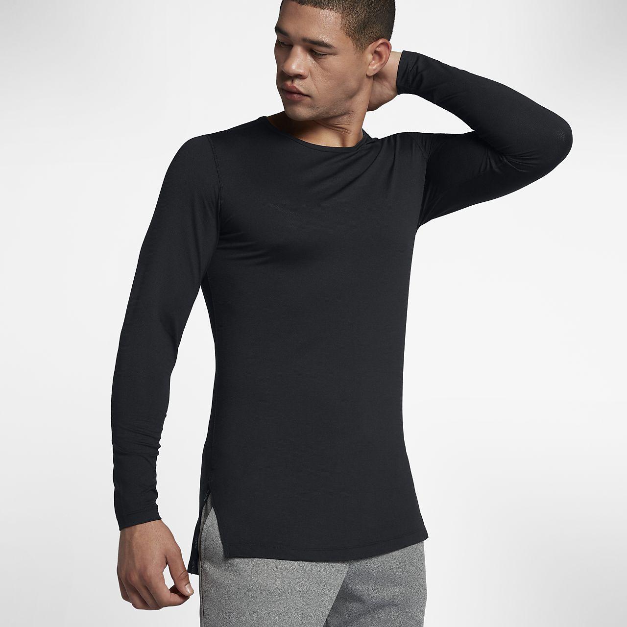 d95e768fe40b9 Nike Dri-FIT Men s Utility Long-Sleeve Training Top. Nike.com CZ