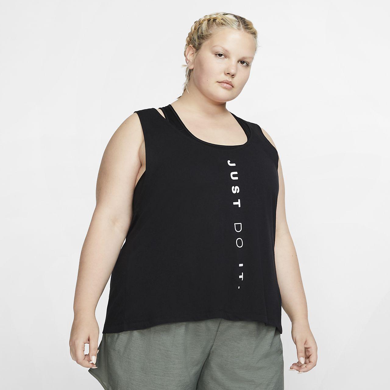 8c5a03acba3fe Nike Dri-FIT Miler Women s Running Tank (Plus Size). Nike.com