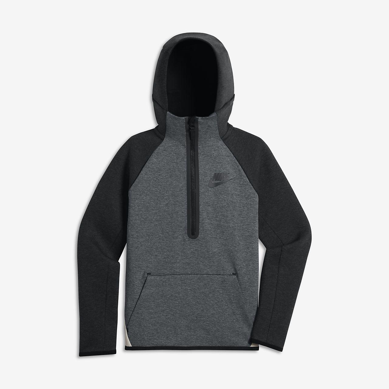 Nike Sportswear TECH - Sudadera - dark blue ewh6x