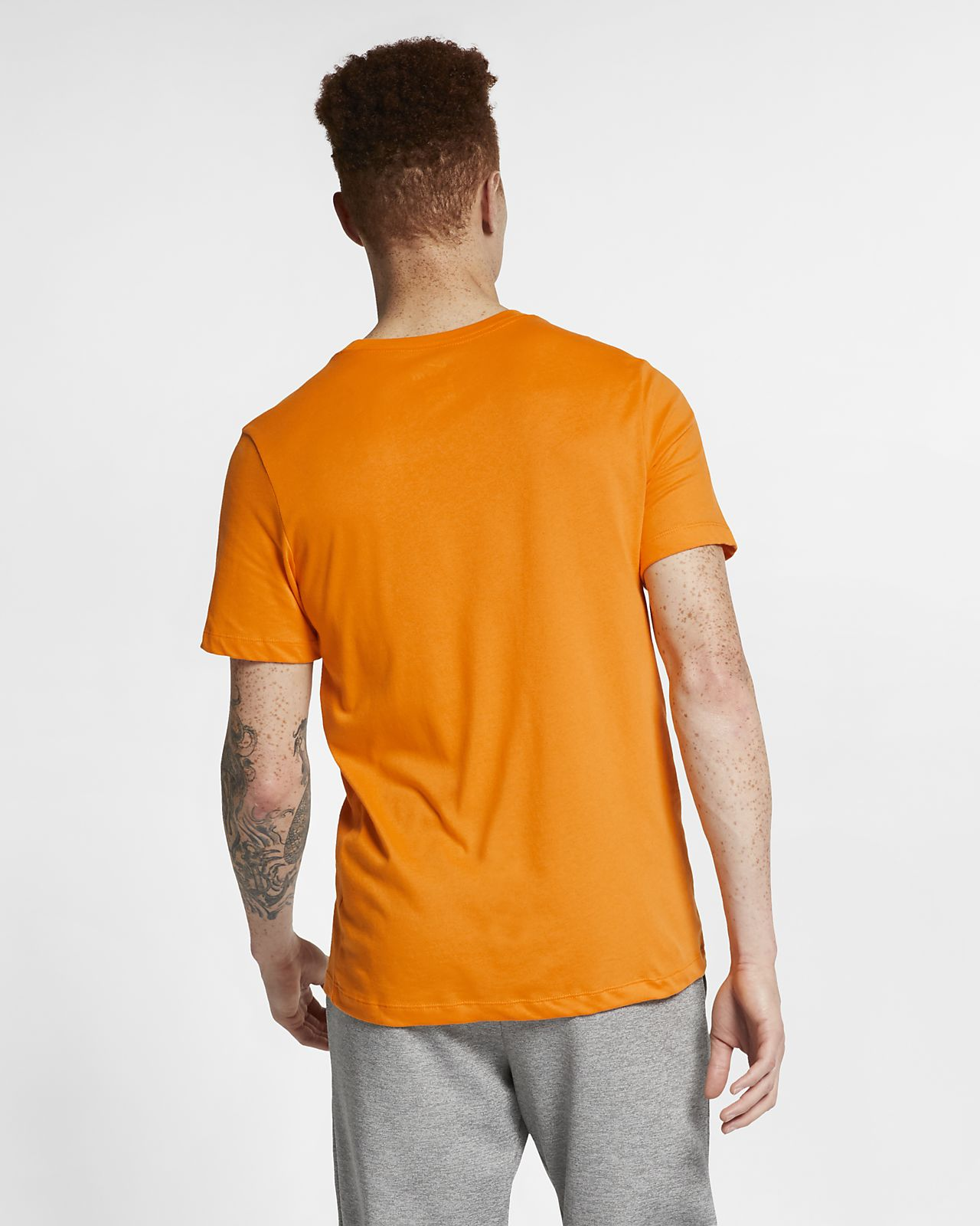 Clothing, Shoes & Accessories Efficient Nike Training T-shirt Drifit Orange Peel