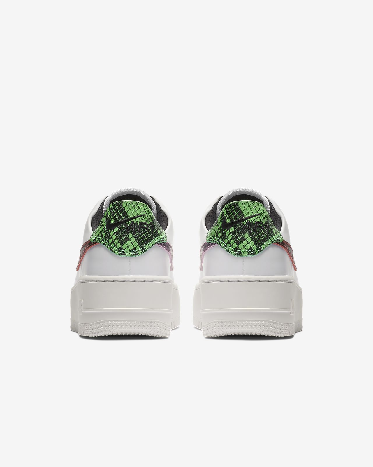 competitive price 3bf0c 7ca1d ... Nike Air Force 1 Sage Low Premium Animal Womens Shoe