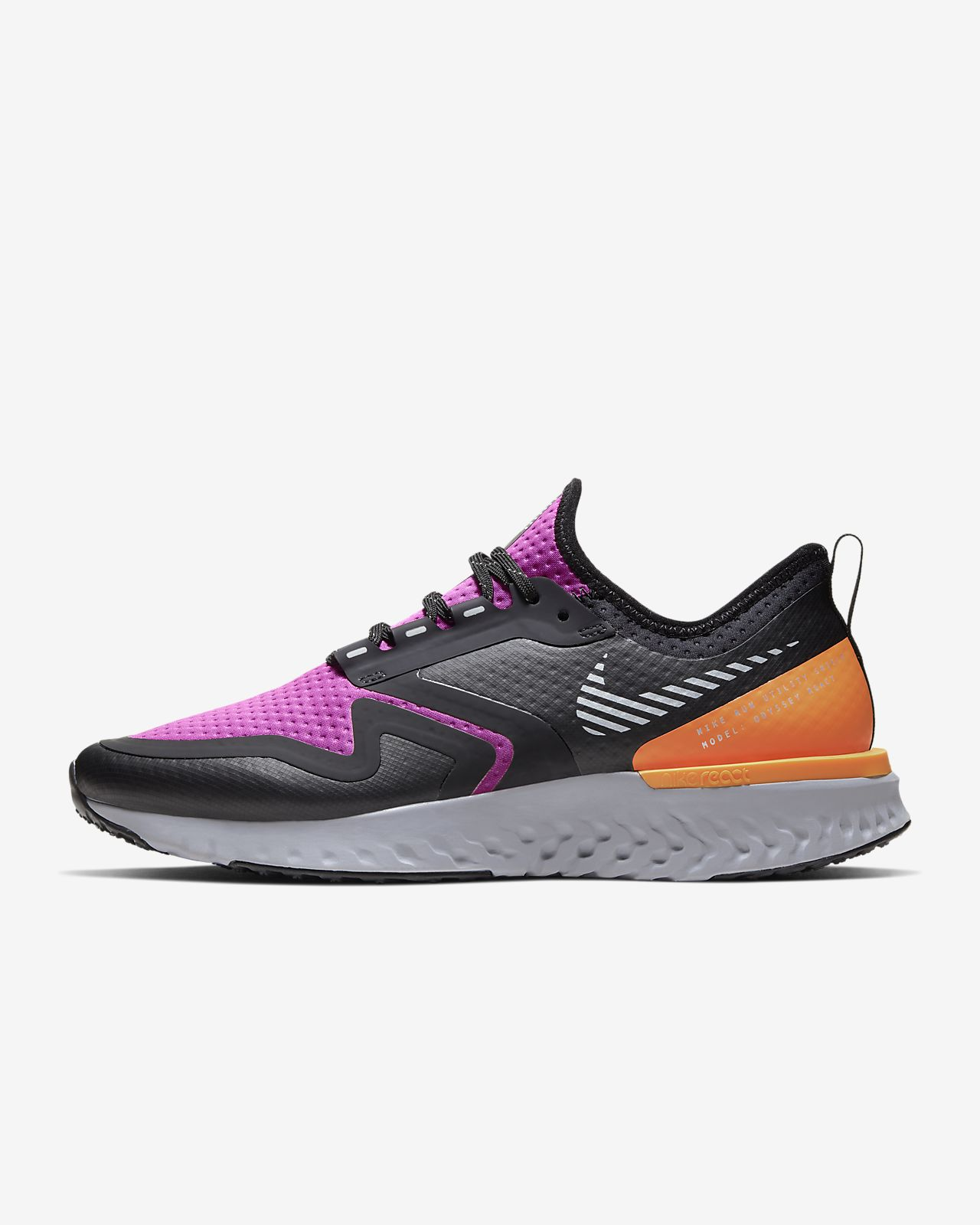 Nike Odyssey React 2 Shield 女子跑步鞋