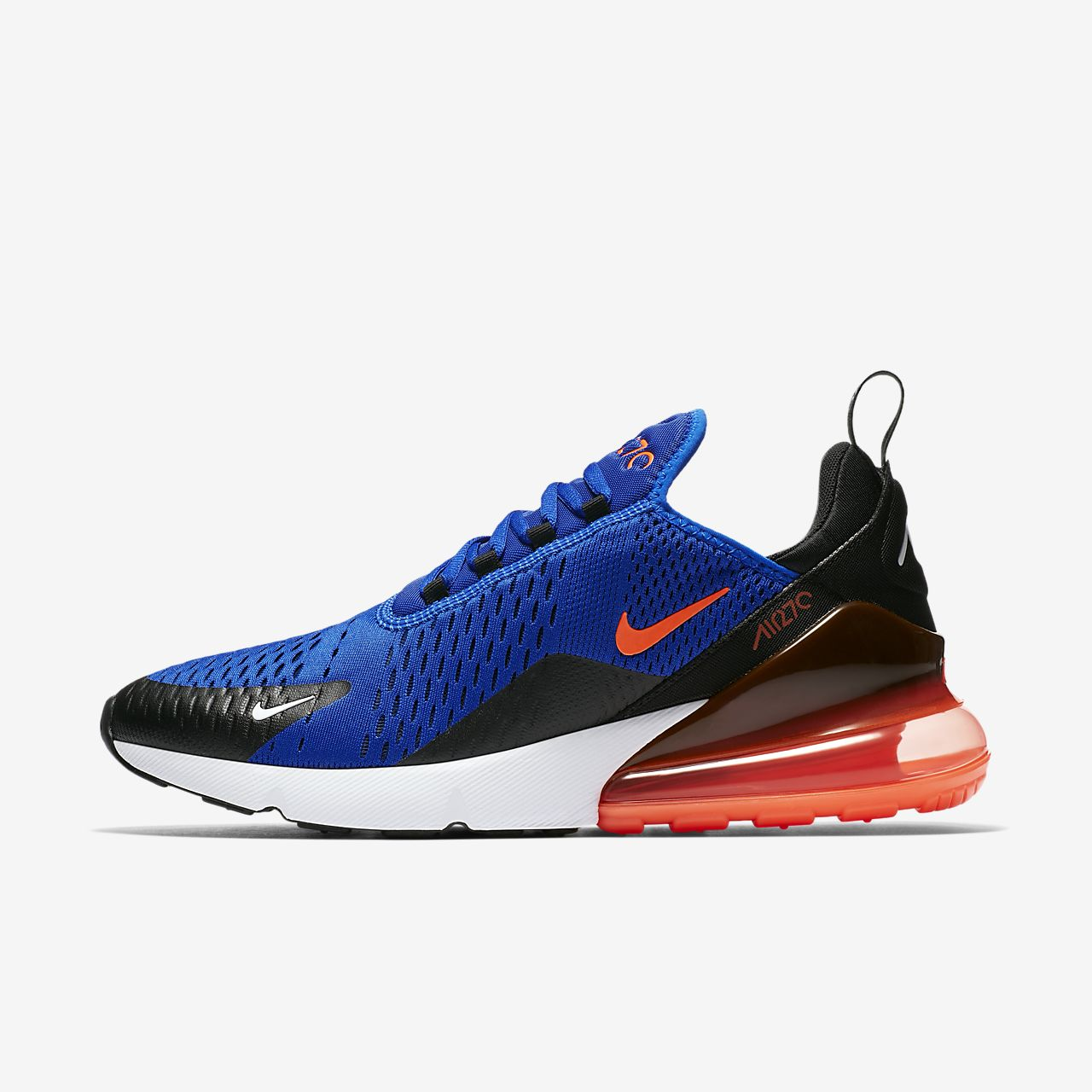 Nike Air Max 270 Blue Hyper Crimson Mens Running Shoes Sneakers AH8050-401