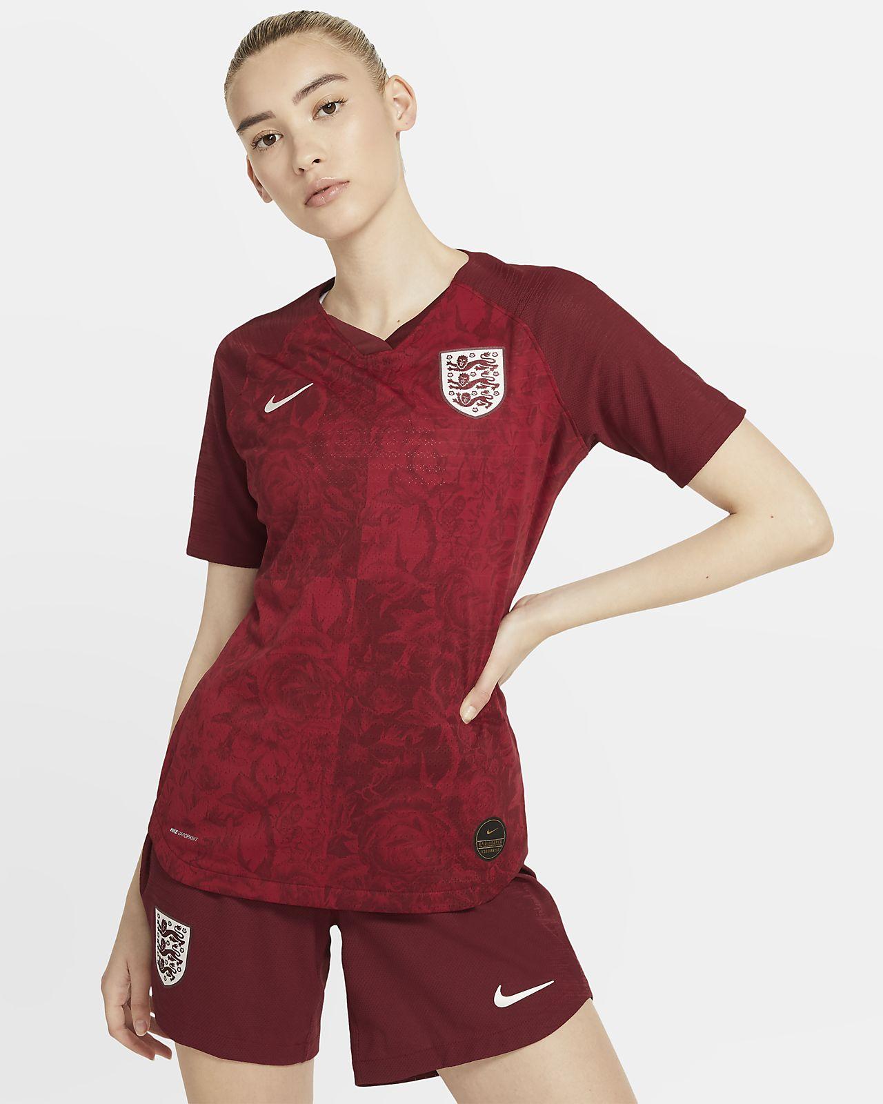 Женское футбольное джерси England 2019 Vapor Match Away
