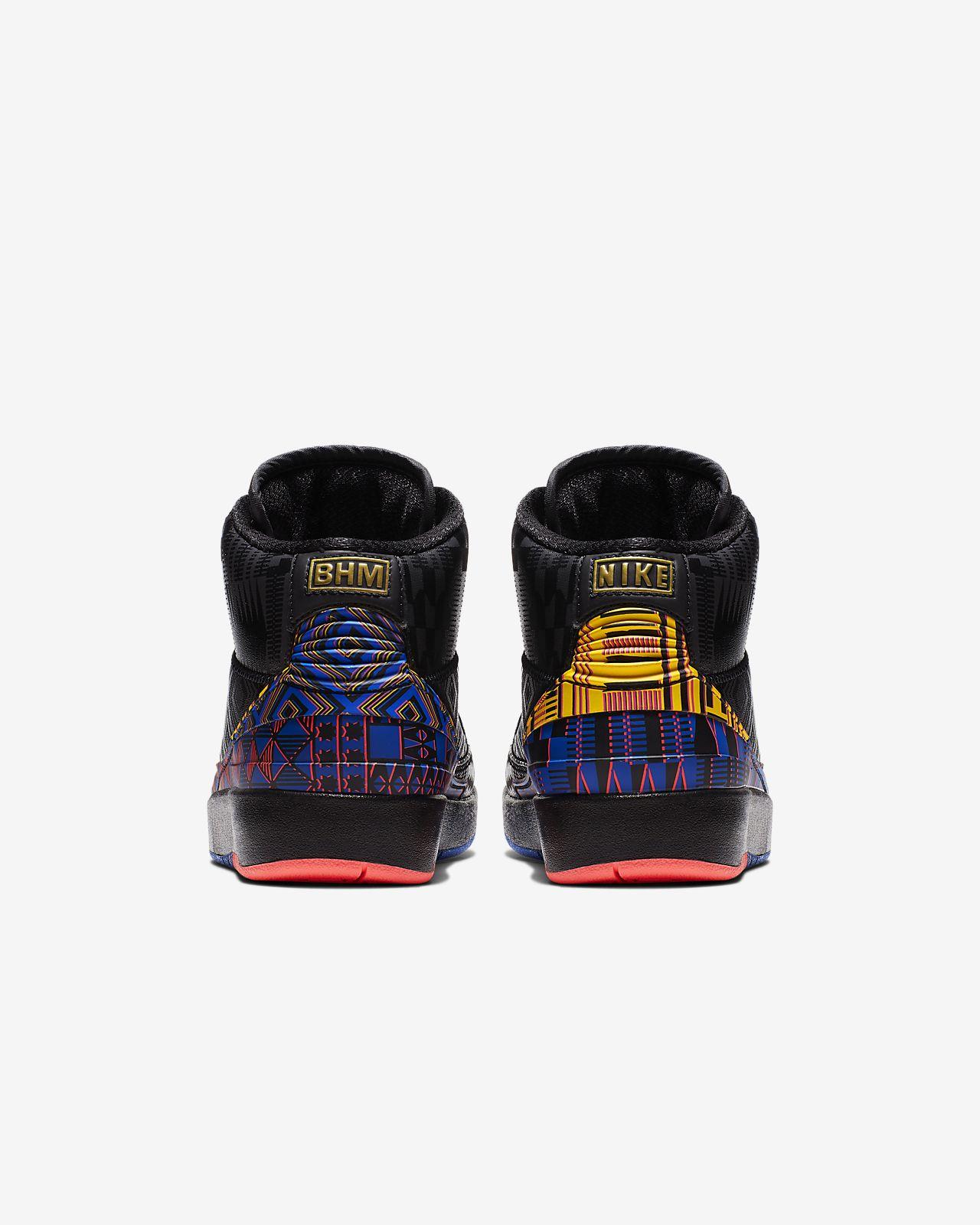 b0652cdd5d25 Air Jordan 2 Retro BHM Big Kids  Shoe. Nike.com