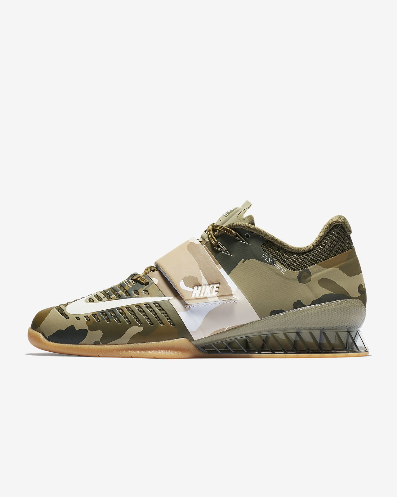 Nike Performance ROMALEOS 3 - Sports shoes - olive canvas/sail/neutral olive/medium brown jdmIAZE