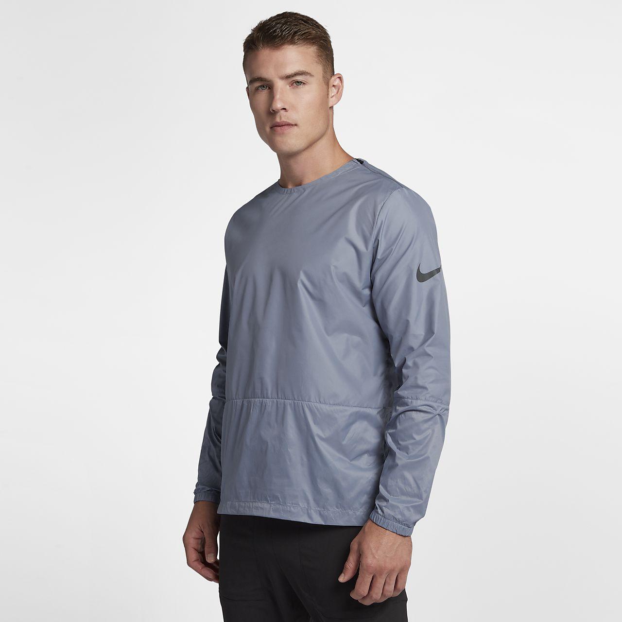 Nike Crew 男子跑步上衣