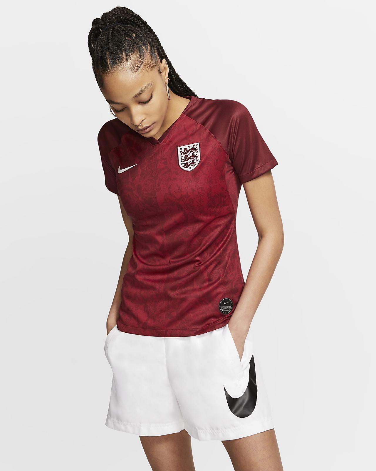 Camiseta de visitante para mujer Stadium de Inglaterra 2019
