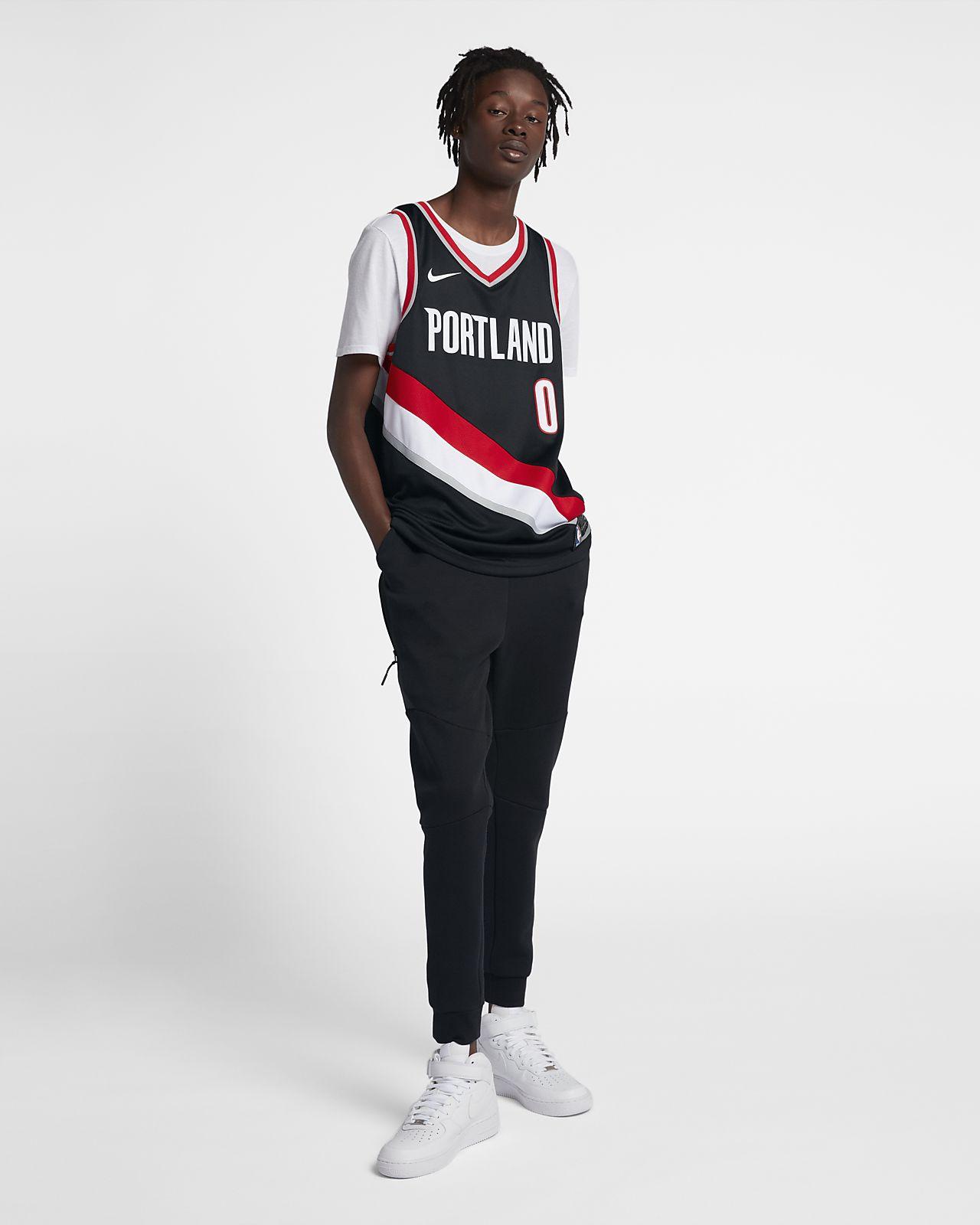 ... Damian Lillard Icon Edition Swingman (Portland Trail Blazers) Men s Nike  NBA Connected Jersey 7272890ce