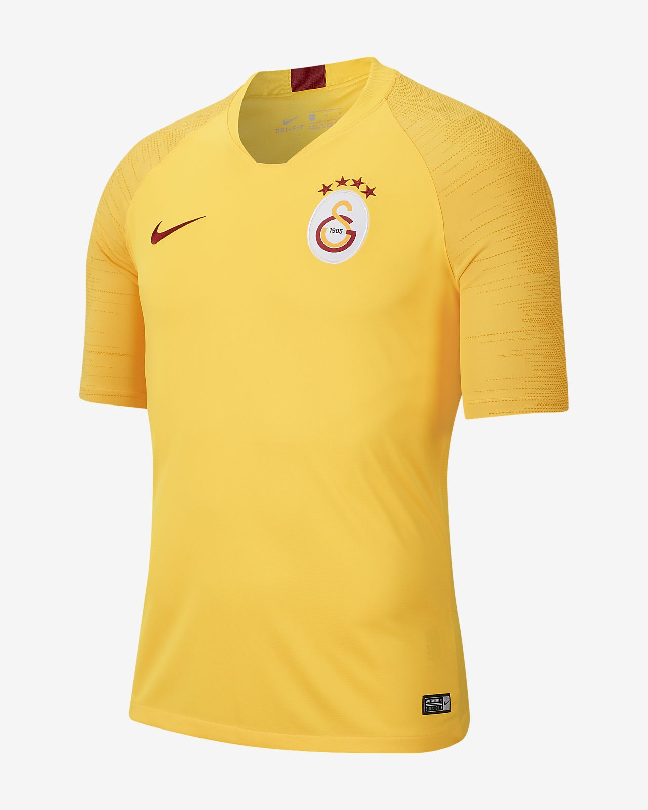 Nike Breathe Galatasaray Strike Men's Short-Sleeve Football Top