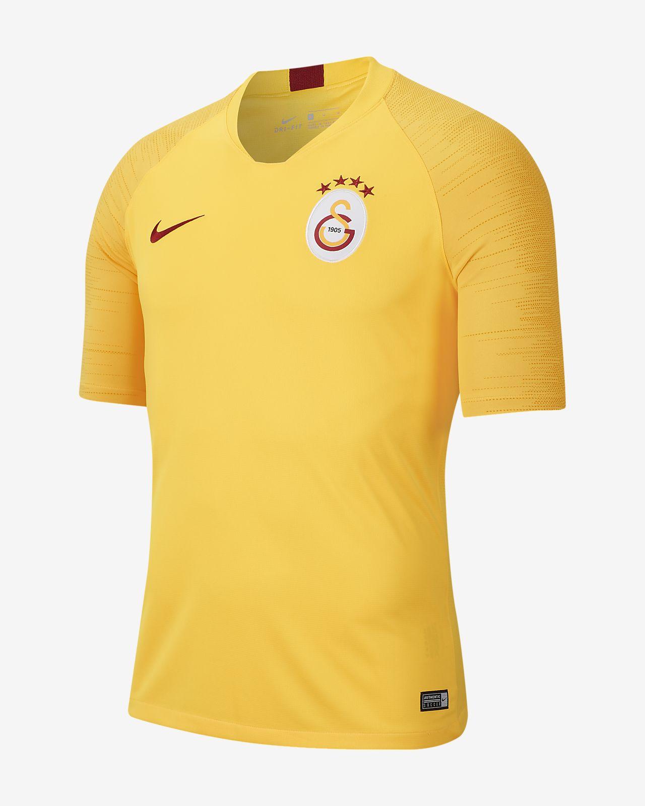 Prenda para la parte superior de fútbol de manga corta para hombre Nike Breathe Galatasaray Strike